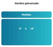 alambre galvanizado 2
